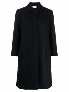 Red Valentino Zagana ribbon coat - Black