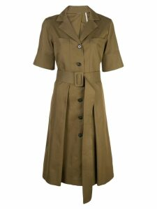 Adam Lippes belted utility dress - Green