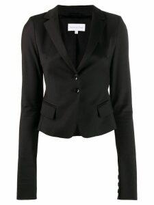 Patrizia Pepe single breasted blazer - Black