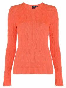 Polo Ralph Lauren fine knit sweatshirt - ORANGE