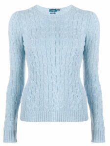 Polo Ralph Lauren fine knit sweatshirt - Blue