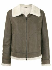 Brunello Cucinelli shearling jacket - Neutrals