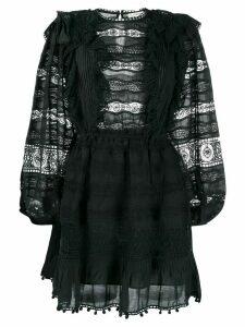 Ulla Johnson crochet mini dress - Black