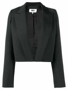 Mm6 Maison Margiela open front blazer - Black