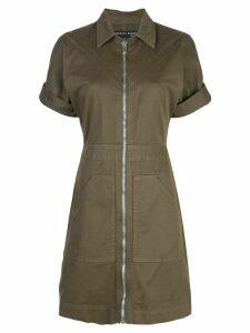 Veronica Beard zipped shirt dress - Green