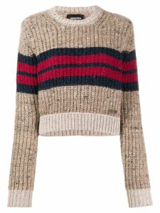 Dsquared2 cropped jumper - Brown