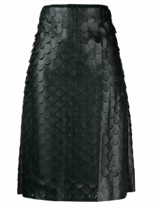 Bottega Veneta A-line skirt - Black