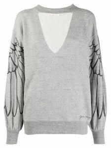 Golden Goose wings sweatshirt - Grey