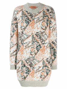 Missoni chunky knit dress - White