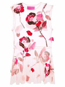 Viktor & Rolf Dancing Roses dress - Red