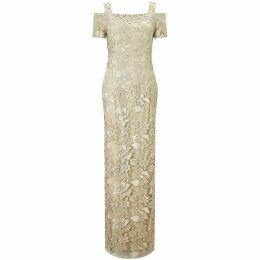 Adrianna Papell Long lace dress
