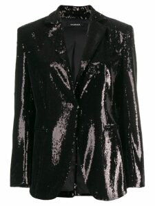 P.A.R.O.S.H. sequinned blazer - Black