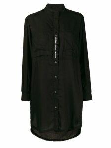 Diesel chemisier shirt dress - Black