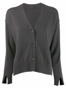 Luisa Cerano cropped cardigan - Grey