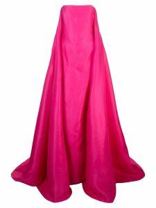 Carolina Herrera embellished off-shoulder gown - Pink