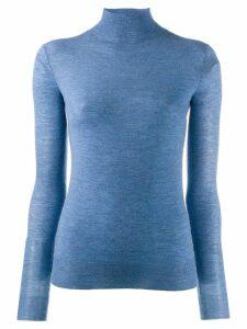 Joseph knit high neck top - Blue