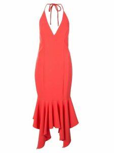 Aidan Mattox fishtail hem dress - Pink