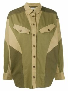 Isabel Marant Étoile oversized shirt - Green