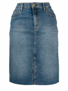 Tommy Jeans denim midi skirt - Blue