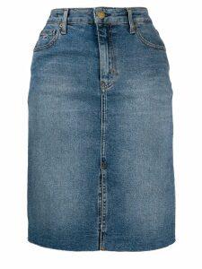 Tommy Jeans denim midi skirt - Blue