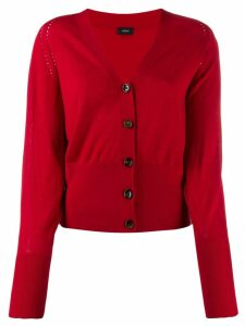 Joseph knit V-neck cardigan - Red