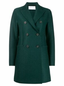 Harris Wharf London double-breasted coat - Green
