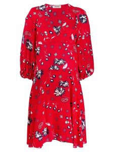 Zadig & Voltaire floral day dress - Red