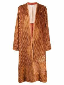 Forte Forte embroidered kaftan coat