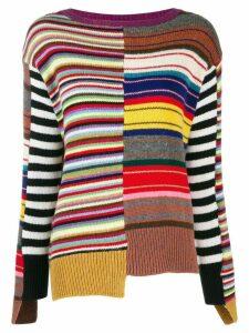Etro knitted sweatshirt - Purple