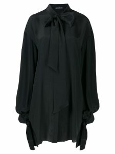 Rokh open back blouse - Black