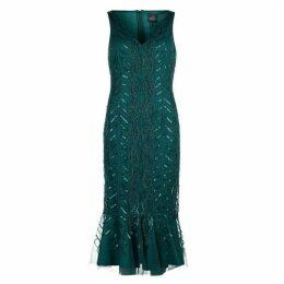 Adrianna Papell AP Bead Mini Dress Ld93