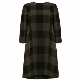 Phase Eight Check Swing Tunic Dress