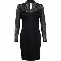 Mela Animal Print Bodycon Dress