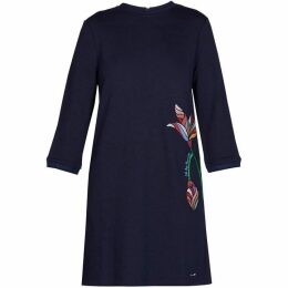 Ted Baker Holie Cbn Floral Embroidery Dress