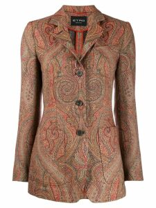 Etro paisley blazer - Orange