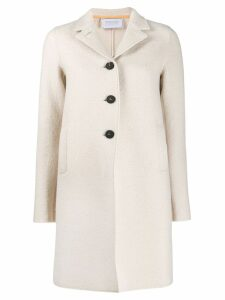 Harris Wharf London welt detail coat - Neutrals