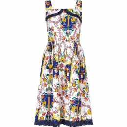 Yumi Meixcan Floral Print Skater Dress