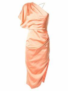 Manning Cartell one-shoulder dress - Orange