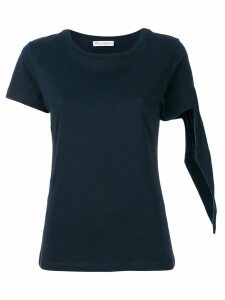 JW Anderson knot sleeve T-shirt - 888 Navy