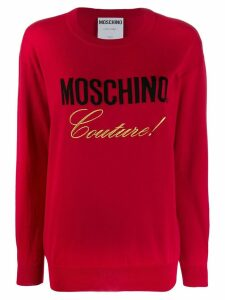 Moschino Couture jumper - Red