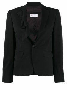 Red Valentino bow detail blazer - Black