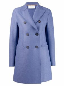 Harris Wharf London double breasted coat - Blue