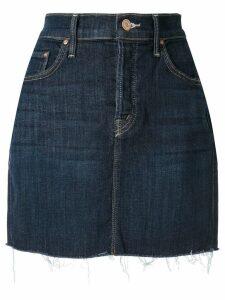 Mother short denim skirt - Blue