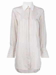 Chloé striped silk shirt - White