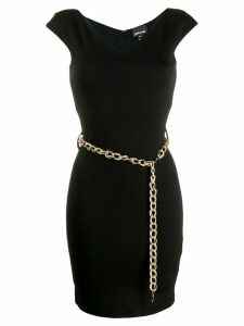 Just Cavalli chain belt dress - Black