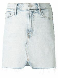 Mother faded denim skirt - Blue