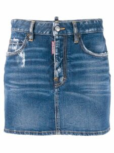 Dsquared2 classic mini denim skirt - Blue