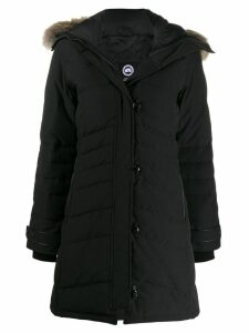 Canada Goose zipped parka coat - Black