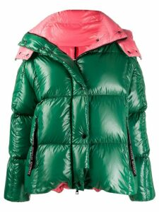 Moncler Parana hooded coat - Green