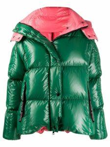 Moncler Parana hooded coat - Green